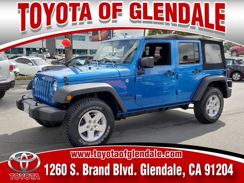 Photo Used 2016 Jeep Wrangler, Glendale, CA, Toyota of Glendale Serving Los Angeles