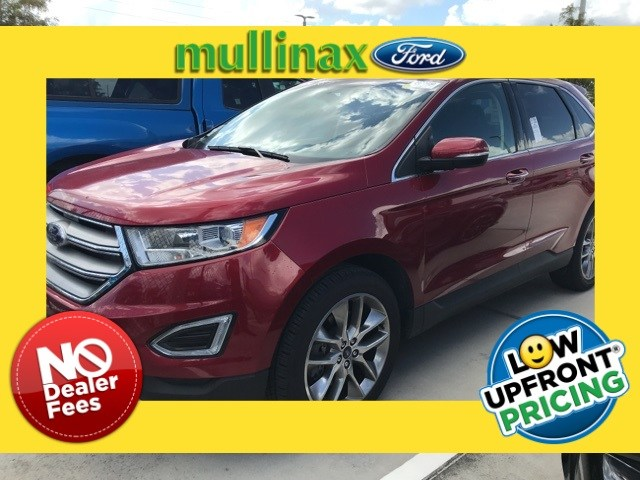 Photo Used 2015 Ford Edge Titanium W 20 Wheels, Navigation, Blind Spot Moni SUV V-6 cyl in Kissimmee, FL