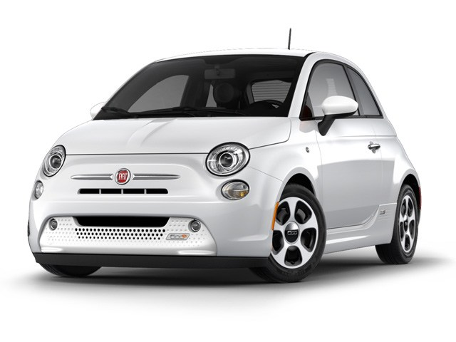 Photo Pre-Owned 2013 FIAT 500e Battery Electric Hatchback in Denver