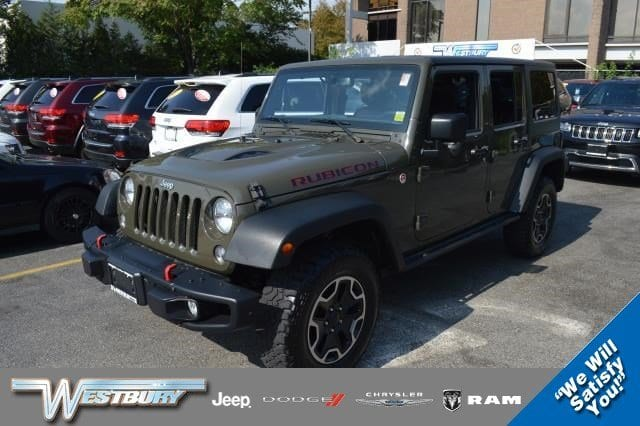 Photo Certified Used 2015 Jeep Wrangler Unlimited Rubicon Hard Rock 4WD Rubicon Hard Rock Long Island, NY