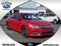 Used 2017 Honda Accord Sedan Sport For Sale in Olathe, KS near Kansas City, MO