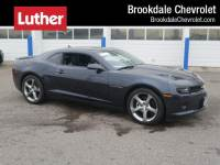 Certified Pre-Owned 2014 Chevrolet Camaro 2dr Cpe LT w/2LT