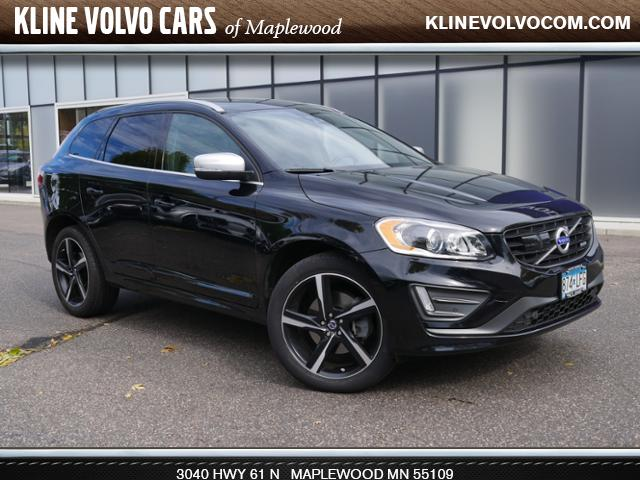 Photo Used 2015 Volvo XC60 2015.5 AWD T6 R-Design Platinum 3.0l 6cyl SUV For Sale Maplewood, MN