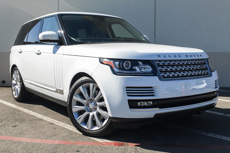 Photo Pre-Owned 2015 Land Rover Range Rover Supercharged Four Wheel Drive SUV