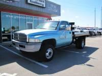 1996 Dodge Ram 3500 2WD V8 Flatbed 34K Exempt MI's!
