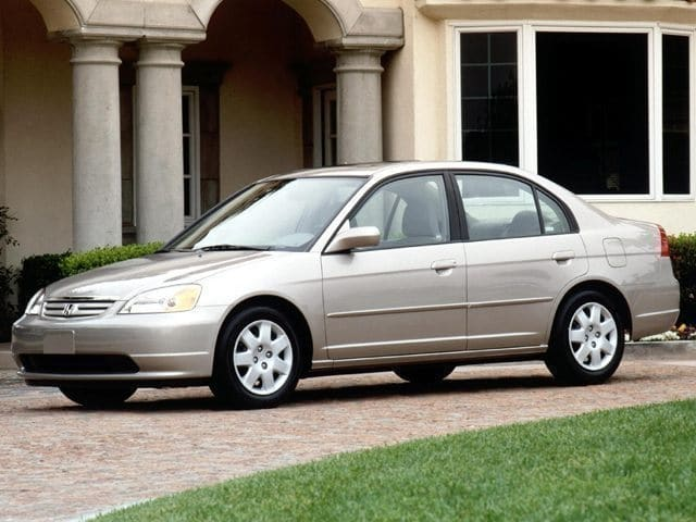 Photo Used 2002 Honda Civic LX Sedan
