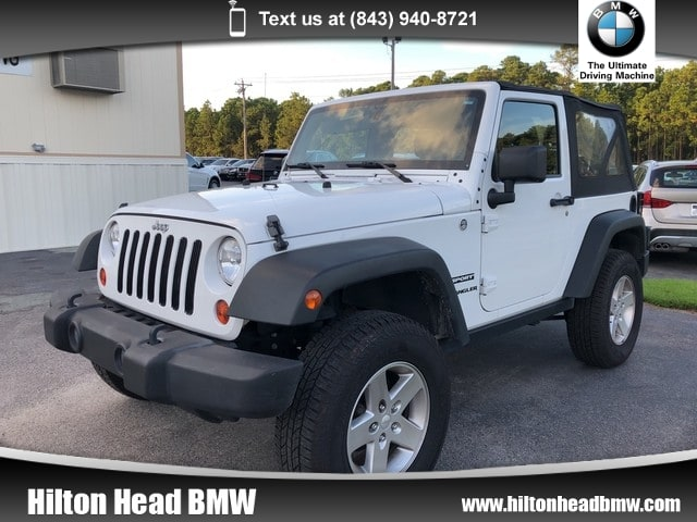 Photo 2012 Jeep Wrangler Sport  6-Speed Manual Transmission  4-Wheel Driv SUV 4x4