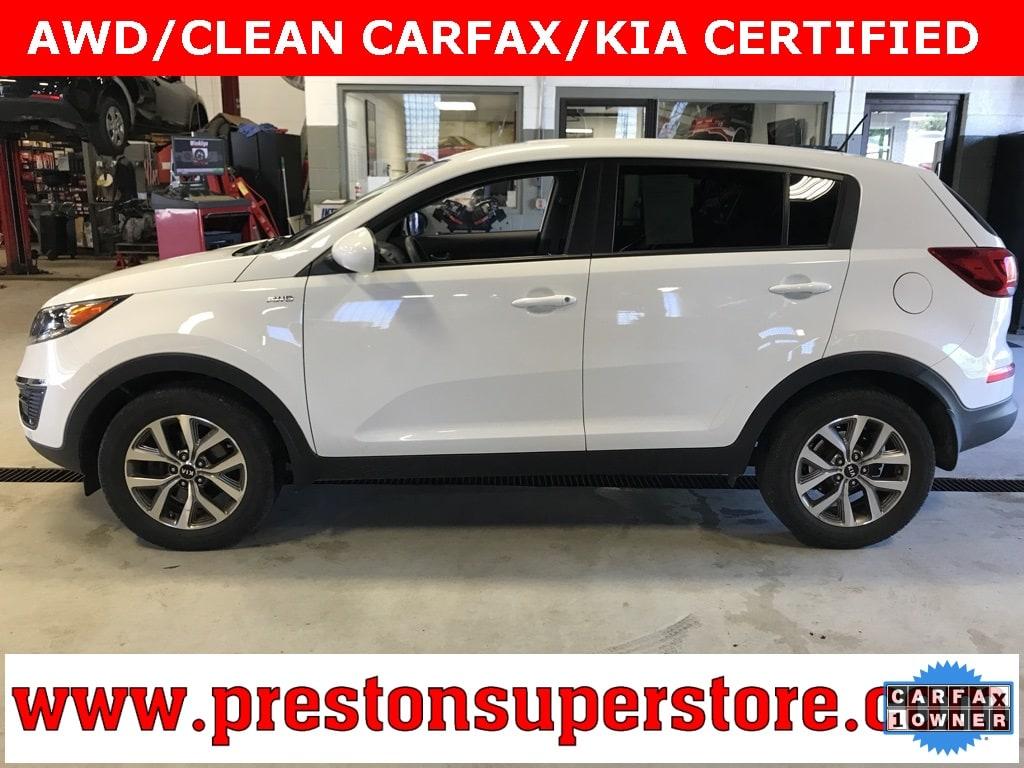 Photo Certified Used 2015 Kia Sportage LX SUV in Burton, OH