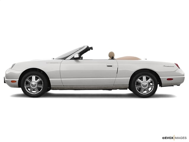Photo Used 2005 Ford Thunderbird 50th Anniversary for Sale in Asheville near Hendersonville, NC