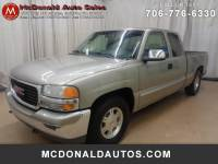 1999 GMC Sierra 1500 SLE Ext. Cab Short Bed 2WD