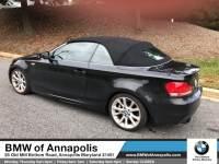2013 BMW 1 Series 135i Convertible Rear-wheel Drive