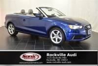 Certified Used 2015 Audi A3 2.0T Premium Cabriolet in Rockville, MD