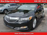 2015 Acura RLX 6-Spd AT w/Technology Package