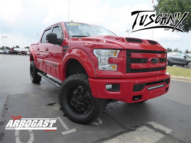 Photo Pre-Owned 2016 Ford F-150 Tuscany Lifted Truck Lariat 4WD