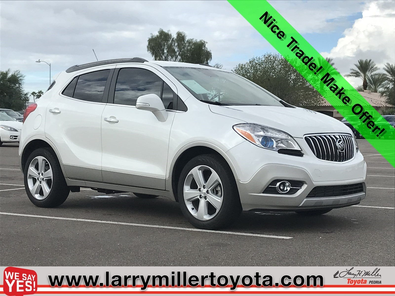 Photo Used 2015 Buick Encore For Sale  Peoria AZ  Call 602-910-4763 on Stock 82506A