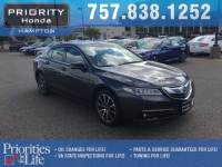 Used 2015 Acura TLX TLX 3.5 V-6 9-AT P-AWS with Advance Package Sedan in Hampton, VA