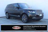 Certified 2016 Land Rover Range Rover Autobiography 4WD 4dr LWB in Houston