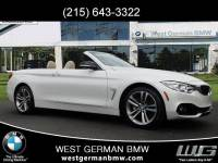 Certified Pre-Owned 2015 BMW 435i xDrive Convertible For Sale Near Philadelphia, PA