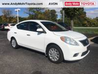 Pre-Owned 2012 Nissan Versa 1.6 SV FWD 4D Sedan