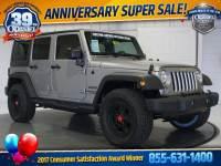 2017 Jeep Wrangler JK Unlimited Sport 4x4 SUV 4x4