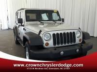 Pre-Owned 2007 Jeep Wrangler Unlimited X SUV in Greensboro NC