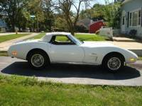 1975 Chevrolet Corvette -White Beauty