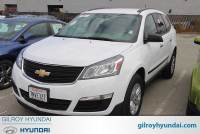Used 2017 Chevrolet Traverse LS SUV For Sale Gilroy, CA