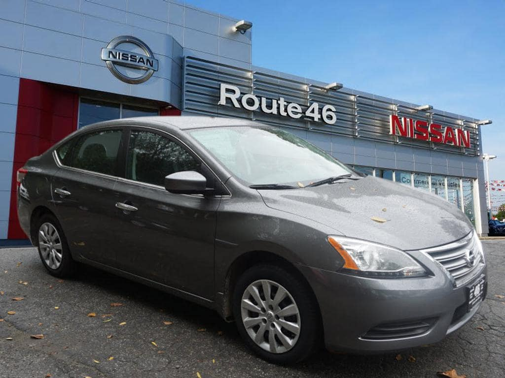 Photo Used 2015 Nissan Sentra Sedan for sale in Totowa NJ
