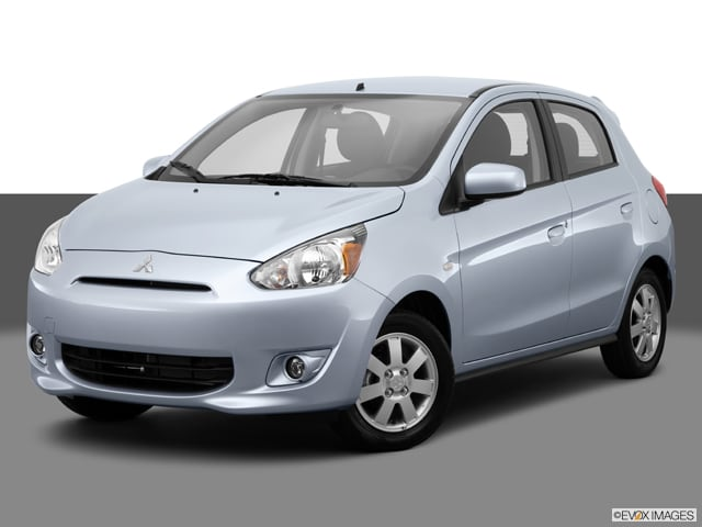 Photo Used 2014 Mitsubishi Mirage ES Hatchback Front-wheel Drive in Chicago, IL