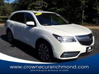 Pre-Owned 2014 Acura MDX MDX SH-AWD with Technology Package in Richmond VA