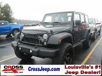 PRE-OWNED 2017 JEEP WRANGLER LIFTED/35'S 4WD