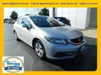 2013 Honda Civic LX Sedan For Sale in Madison, WI