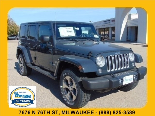 Photo 2017 Jeep Wrangler JK Unlimited Sahara 4x4 SUV For Sale in Madison, WI