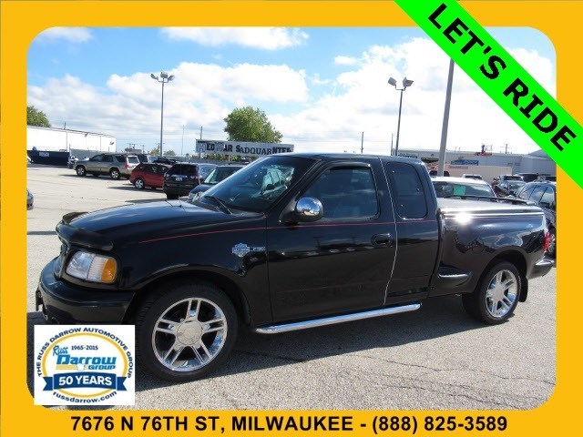 Photo 2000 Ford F-150 XLT Harley-Davidson Edition Truck Super Cab For Sale in Madison, WI