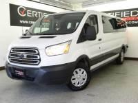 2017 Ford Transit Wagon WAGON 350 XLT LOW ROOF PASSENGER FLEX FUEL KEYLESS ENTRY REAR CA