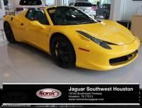 Used 2013 Ferrari 458 Spider 2dr Conv in Houston