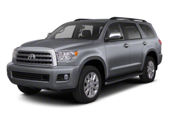 Photo Pre-Owned 2011 Toyota Sequoia RWD LV8 6-Spd AT SR5 Rear Wheel Drive SUV