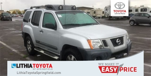 Photo Used 2012 Nissan Xterra PRO-4X 4x4 A5 SUV in Springfield