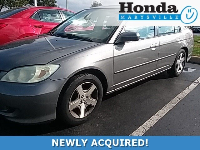 Photo Used 2004 Honda Civic EX Sedan