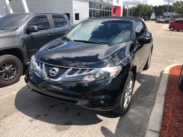 Photo Used 2014 Nissan Murano CrossCabriolet Base Convertible