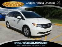 Certified 2015 Honda Odyssey EX-L w/RES Van in Orlando FL