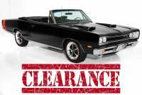 1969 Dodge Coronet Black R/T 440ci Rotisserie Restored