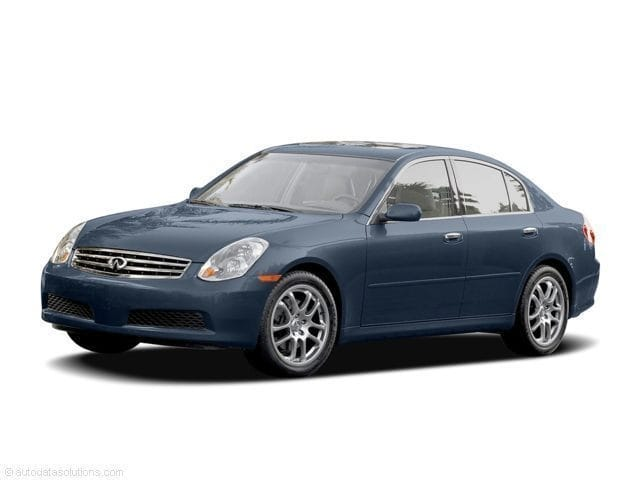 Photo Used 2005 INFINITI G35 X Sedan For Sale in Asheville, NC