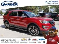 Pre-Owned 2016 Ford Explorer Sport w/Sunroof 4WD