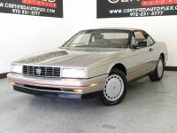 1991 Cadillac Allante' REMOVABLE HARD TOP DUAL LEATHER POWER SEATS SOFT TOP SYMPHONY SOUND SYSTEM