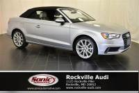 Certified Used 2016 Audi A3 2.0T Premium Plus Cabriolet in Rockville, MD