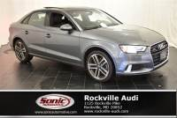 Certified Used 2018 Audi A3 Premium Sedan in Rockville, MD