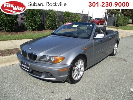 Photo Used 2004 BMW 330Ci for sale in Rockville, MD