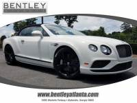 Pre-Owned 2017 Bentley Continental GTC Speed Black Edition Convertible in Atlanta GA
