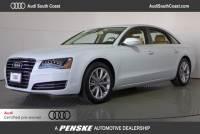 Certified Pre-Owned 2014 Audi A8 L 3.0 TDI (Tiptronic) Sedan in Santa Ana, CA